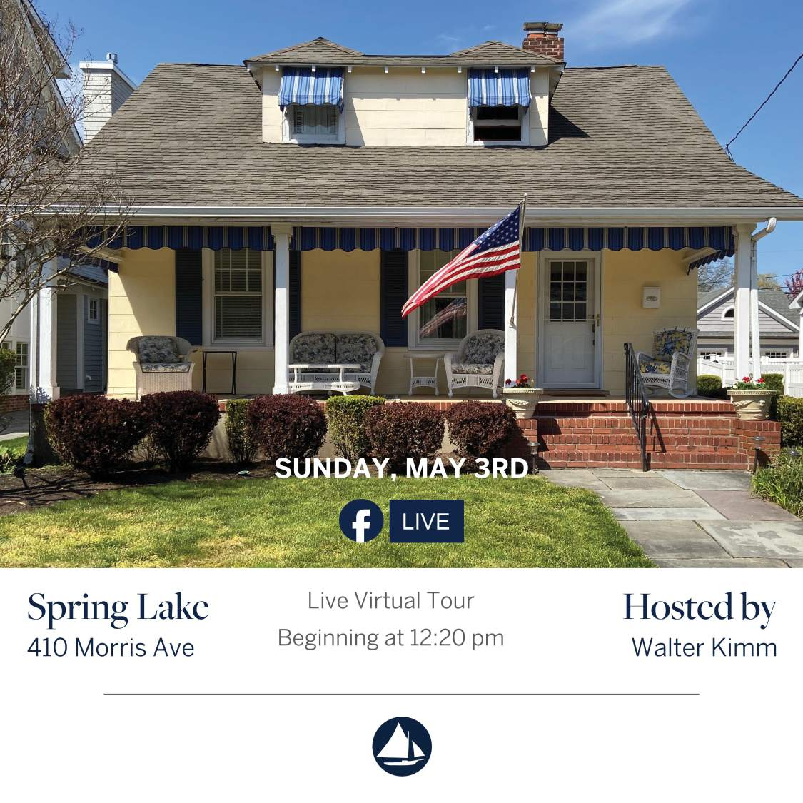 410 Morris Ave - May 3rd Virtual Open House on FB Live