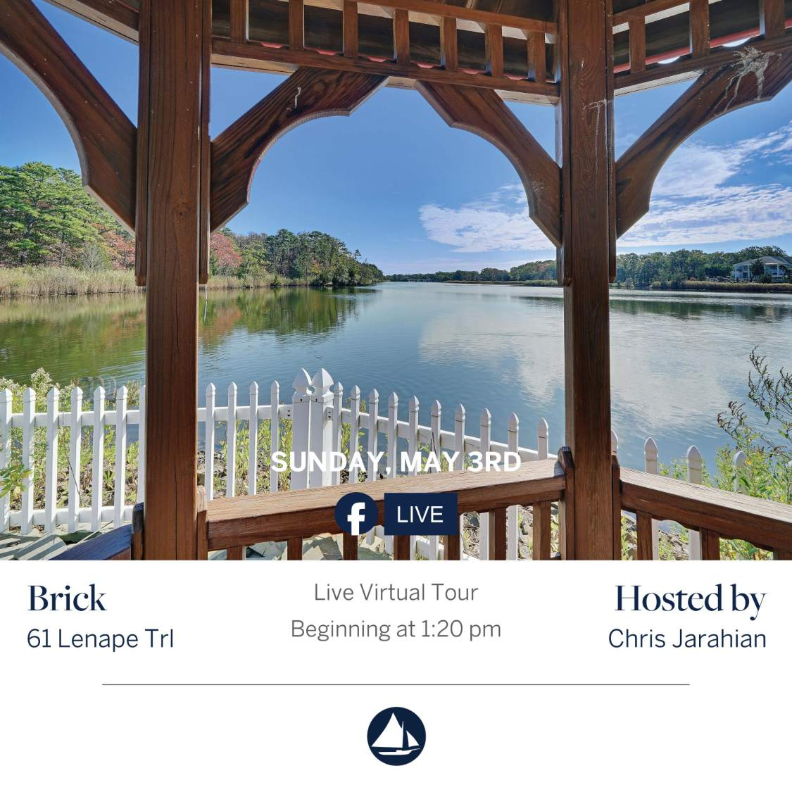61 Lenape Trl - May 3rd Virtual Open House on FB Live