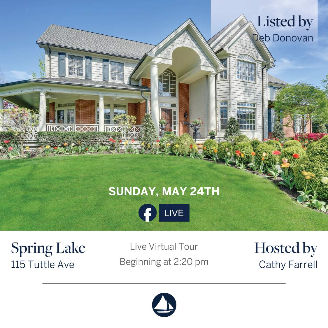 115 Tuttle - May 24th Virtual Open House on FB Live