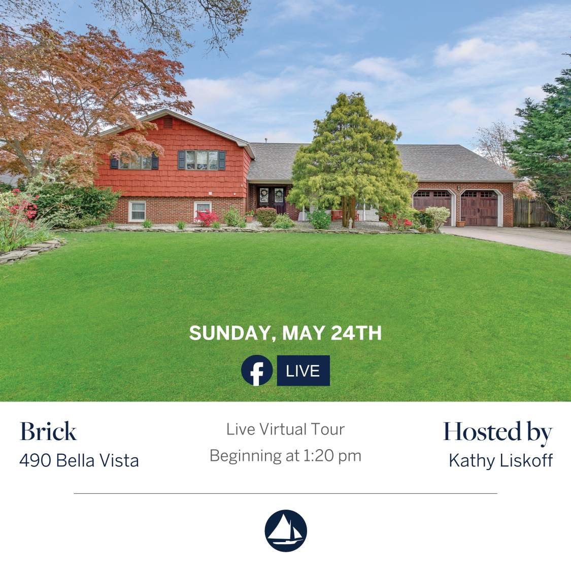 490 Bella Vista Rd - May 24th Virtual Open House on FB Live