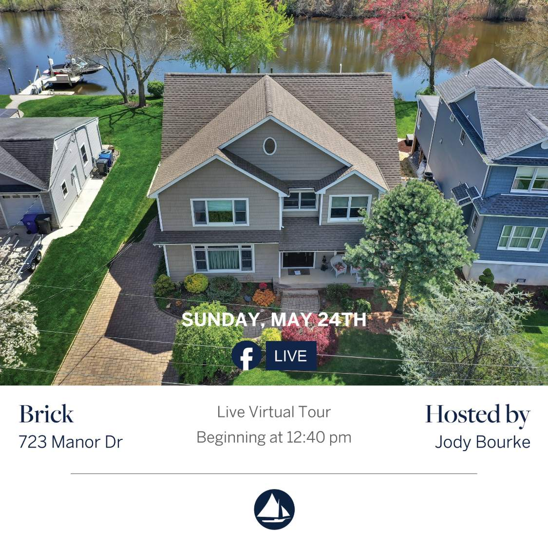 723 Manor Dr - May 24th Virtual Open House on FB Live