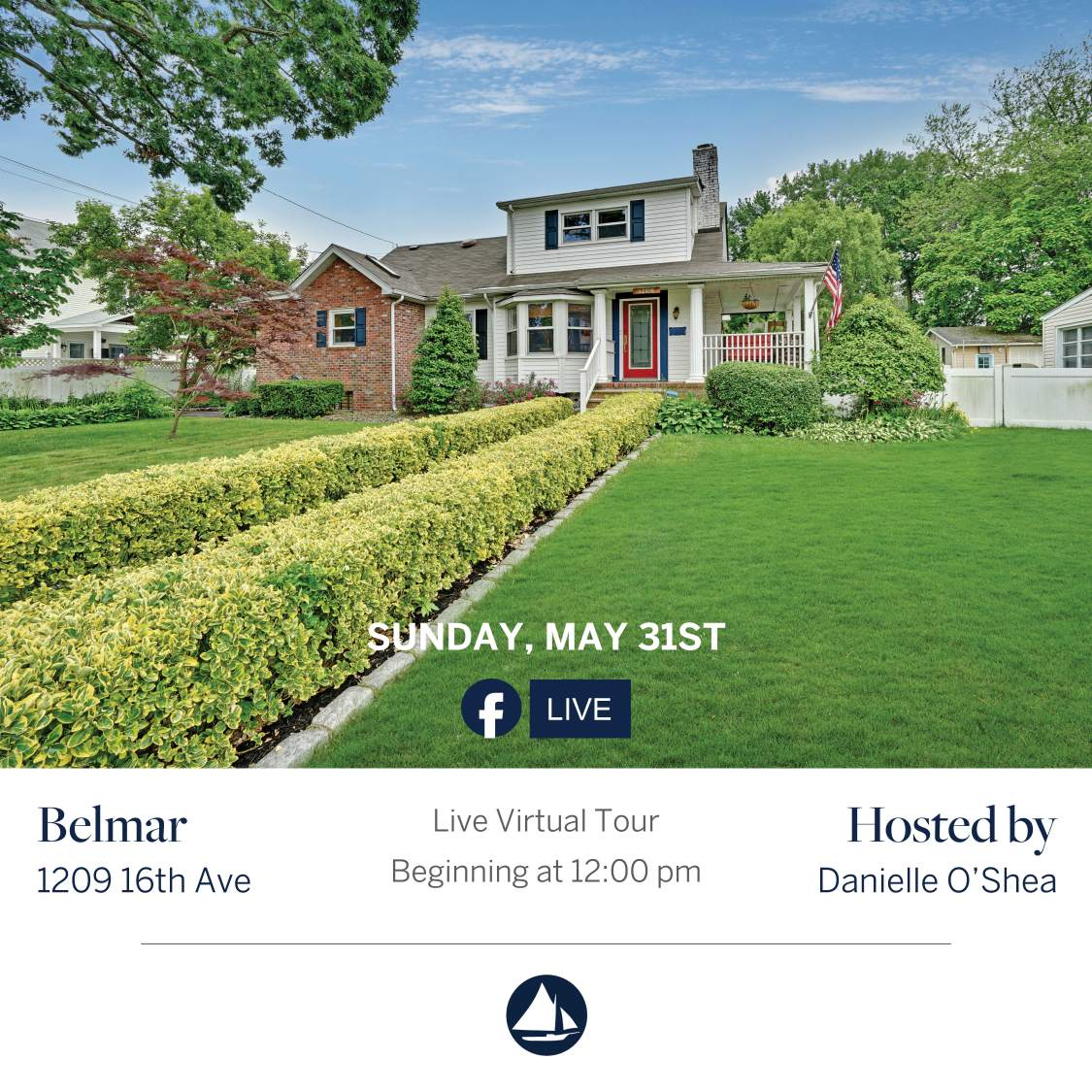 1209 16th - May 31st Virtual Open House on FB Live