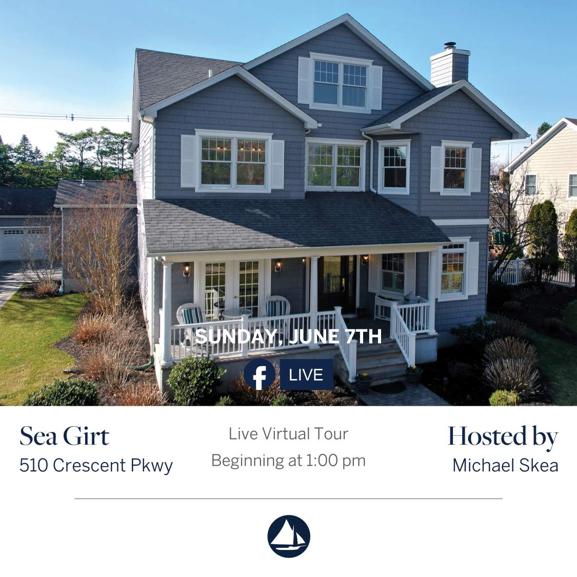 510 Crescent - June 7th Virtual Open House on FB Live