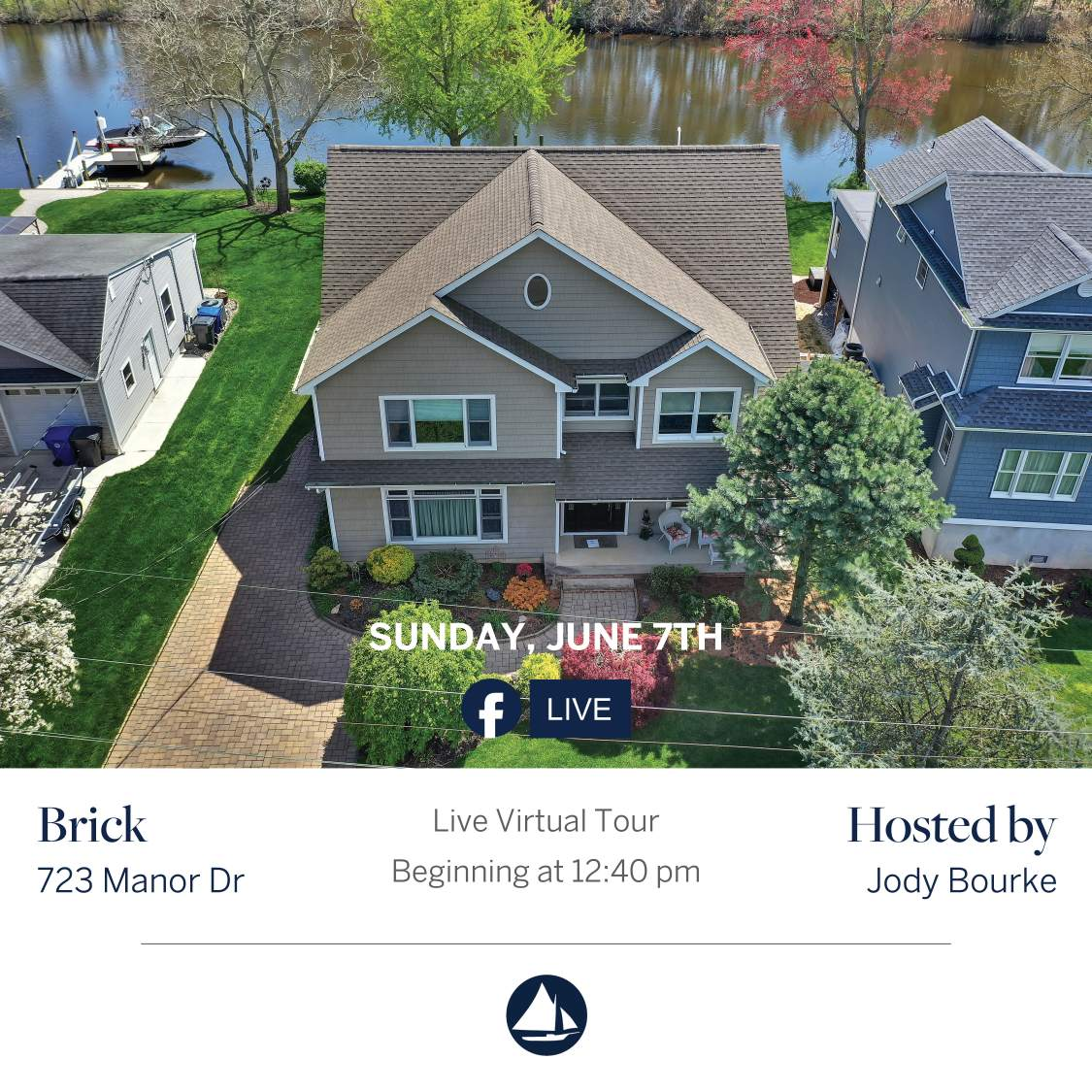723 Manor - June 7th Virtual Open House on FB Live