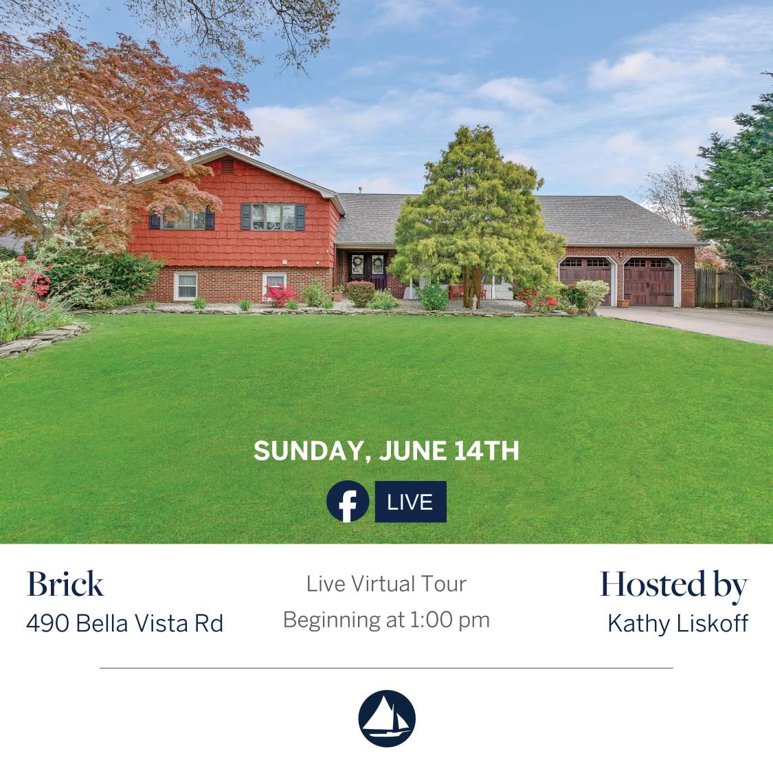 490 Bella Vista - June 14th Virtual Open House on FB Live