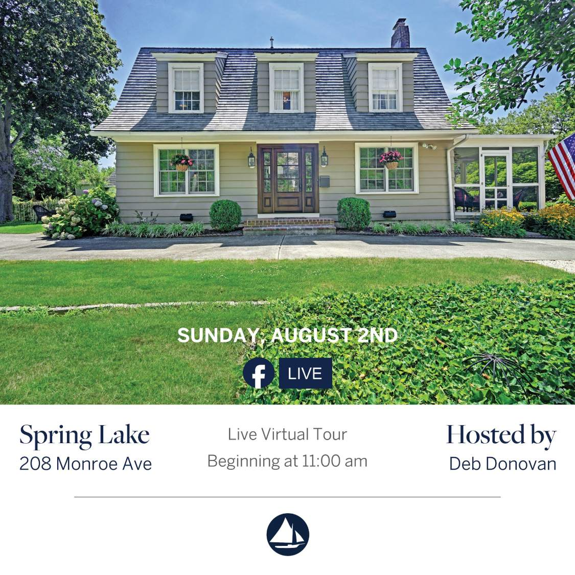 208 Monroe - August 2nd Virtual Open House on FB Live