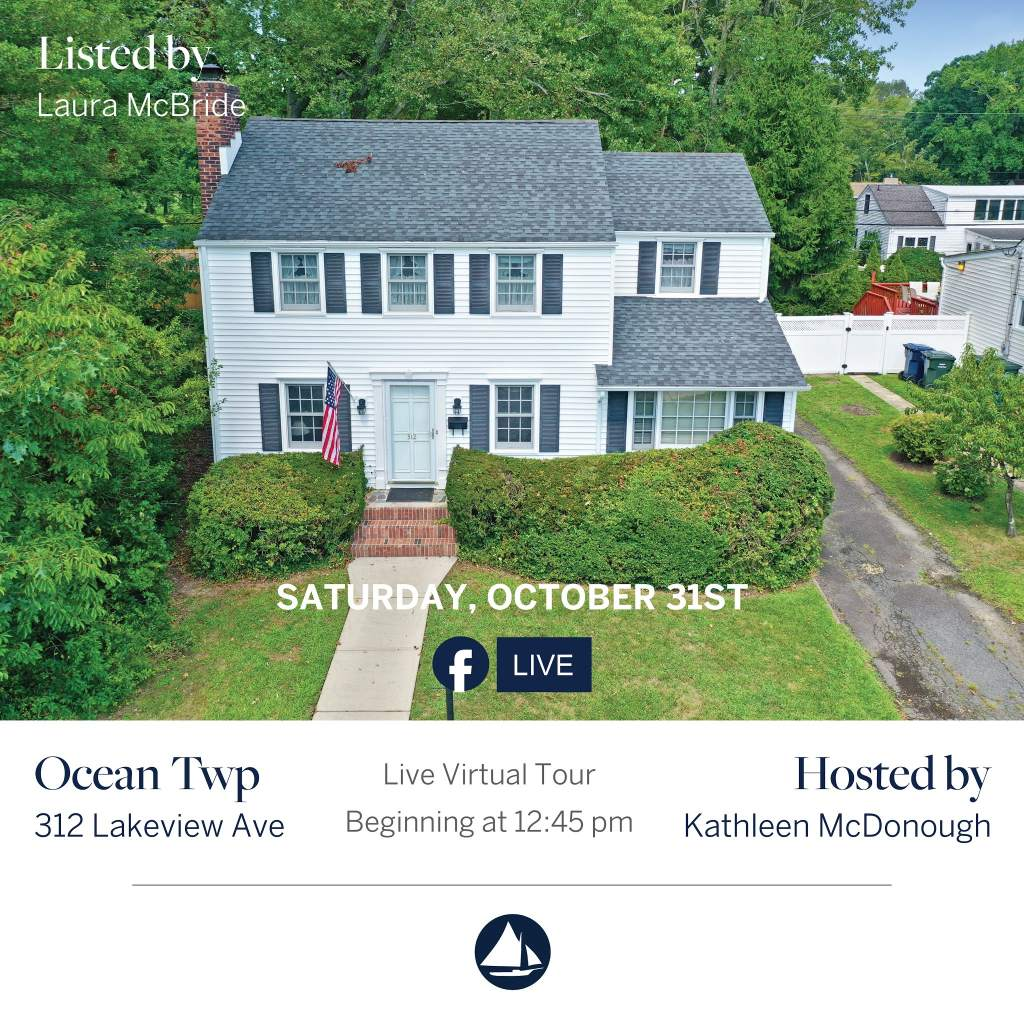 312 Lakeview - October 31st Virtual Open House on FB Live